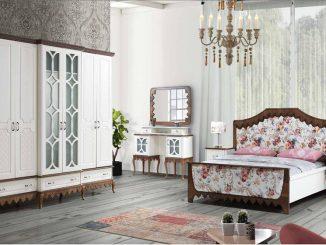 inegöl mobilya country yatak odaları